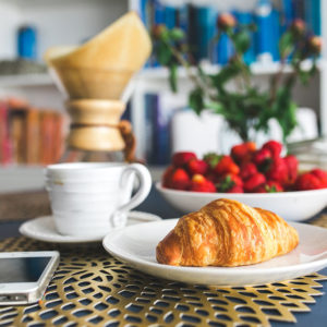 kaboompics.com_Croissants-and-strawberry-for-breakfast